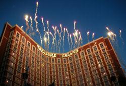 Treasure Island Hotel Fireworks